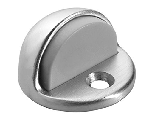 Rockwood 085804 441.26D Floor Mounted Low Dome Stop, Satin Chrome Finish