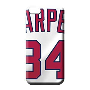 iphone 6 normal Plastic mobile phone skins Awesome Look covers protection washington nationals mlb baseball