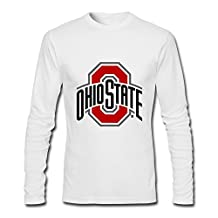 Gentleman Classic Unique Ohio State Football Long Sleeve T-Shirt