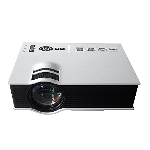 Docooler UC40 LED Projector 800 Lumens 1080P HDMI Full HD Contrast Ratio: 800 : 1 with Remote Controller