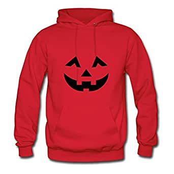 Custom Women The Pumpkin Designed X-large Sweatshirts Red