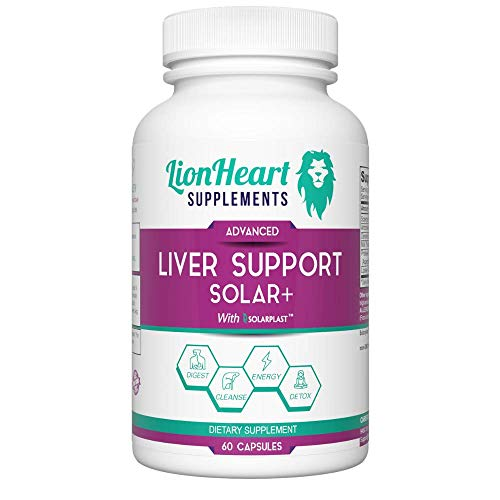 Liver Support Cleanse Detox & Repair Formula Supplement – Detoxifier & Regenerator – Milk Thistle (Silymarin), Artichoke, Dandelion – Gallbladder Flush – Digestion Relief – All Natural