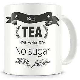 Personalised Tea/Coffee order mug