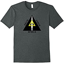 Mens Delta Force Special Operations Large Dark Heather