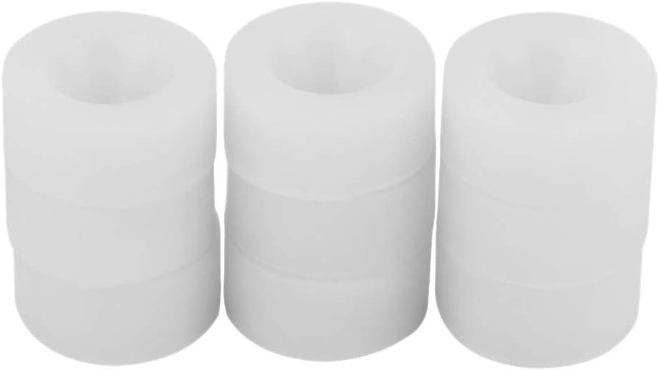 Noblik Almohadilla de goma de silicona 9Pcs para máquina tapadora de botellas multifunción 10-20 mm