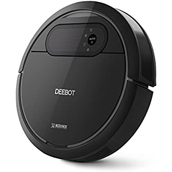 ECOVACS DEEBOT N78 Robot Vacuum Cleaner with Direct Suction, Sensor Navigation for Pet Hair, Fur, Allergens, Thin Carpet, Hardwood and Tile Floors