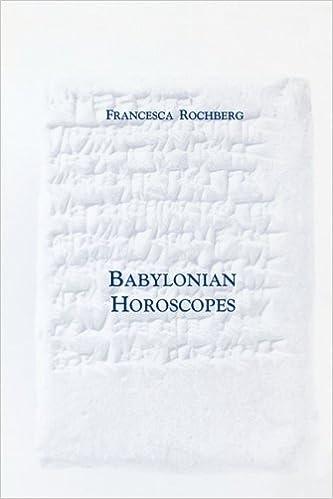 rochberg babylonian horoscopes