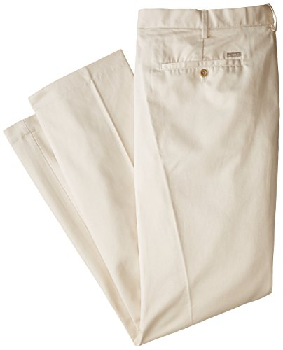 IZOD Mens Big and Tall Flat Front Extended Twill Pant