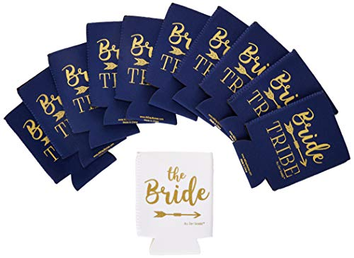 BRIDE TRIBE Bachelorette Party Skinny Can Sleeves -