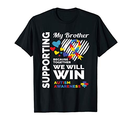 Autism Awareness Brother Sister Shirt