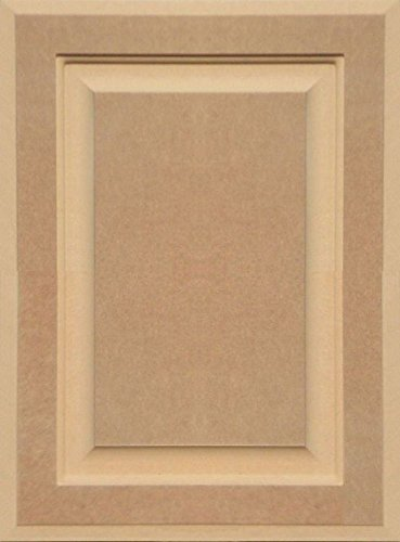 Unfinished MDF Cabinet Door, Square with Raised Panel by Kendor, 19H x 14W