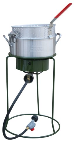 Sportsman Series SBCOOK Single Basket Outdoor Cooker and Fryer with Single Burner