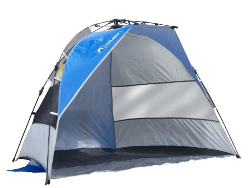 Lightspeed Quick Draw Sun Shelter (Blue/Silver), Outdoor Stuffs