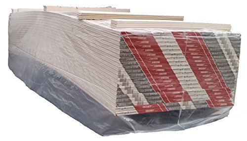 TRM Manufacturing DW12D Weatherall Plastic Drywall bag, Pallet Cover, Topper 78'' Wide x 196'' Length x 2.0 mil Thickness, Clear by TRM Manufacturing
