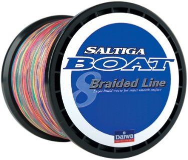 Daiwa Saltiga Boat Braided Line Multi-Color PE-5 70lb 1800m 1970 Yards - SAB-B70LB