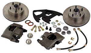 SSBC A123-22 Front Drum to Disc Brake Conversion Kit