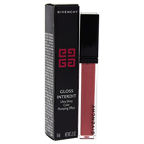 Givenchy Interdit # 01 Capricious Pink Lip Gloss for Women, 0.21 - Givenchy Pink