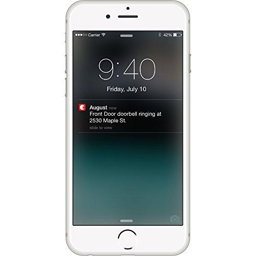 August Doorbell Cam – Silver 70%OFF