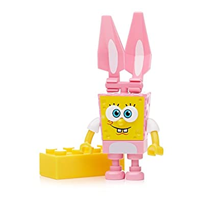 Mega Bloks Easter Collectibles SpongeBob - Styles May Vary: Toys & Games