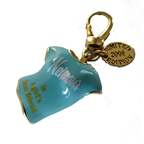 juicy-couture-womens-blue-shirt-charm-neiman-marcus-gold-tone-limited-edition