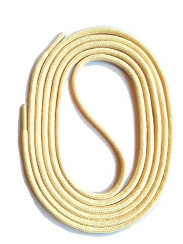 3 4 Stringhe Colorate 26 Per Scarpe 2 Colori Colorati Rotondi Crema Snors Lacci Mm Lunghezze Oqn8Rg8