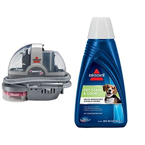 amazoncom bissell spotbot pet handsfree spot and stain cleaner with deep reach technology 33n8a corded and bissell oxygen boost portable machine - Bissell Spot Cleaner