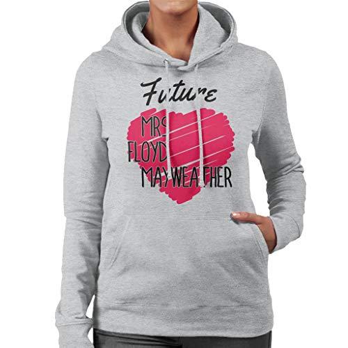 Floyd Floyd Mayweather Women's Sweatshirt Future Coto7 Grey Heather Heather Heather Hooded Mrs nSzEqwZ