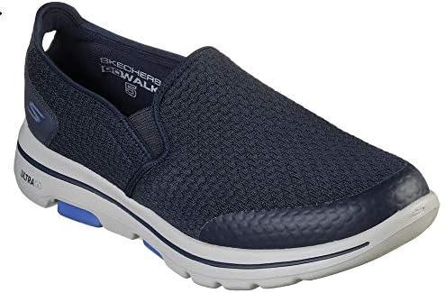 SKECHERS GO WALK 5 APPRIZE Mens Shoes, Blue (Navy), 6.5 UK