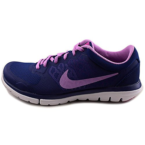 Nike Flex 2015 Run Women Laufschuhe deep royal blue-fuchsia glow-fuchsia flash-white - 36,5