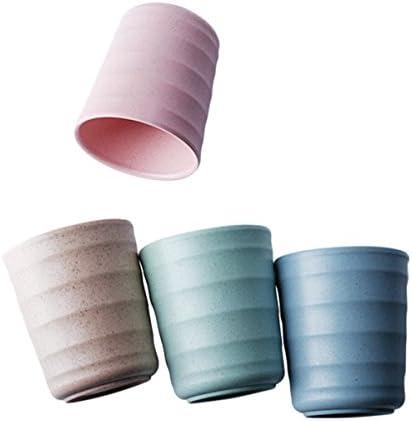 UPSTYLE - Taza de plástico de bambú biodegradable y respetuosa con ...