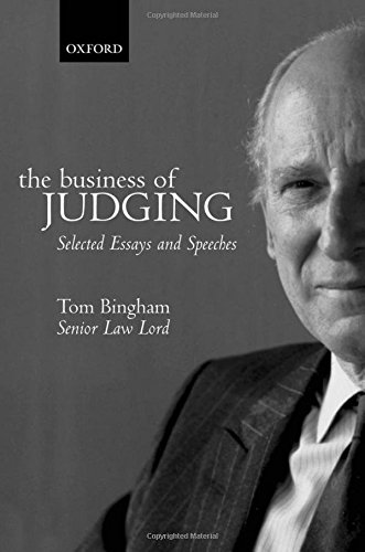 The Business of Judging: Selected Essays and Speeches