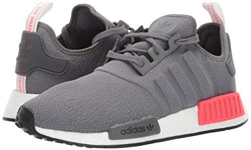 adidas Originals Men's NMD_R1 Running Shoe, Grey/Shock red, 4 M US by adidas Originals (Image #6)