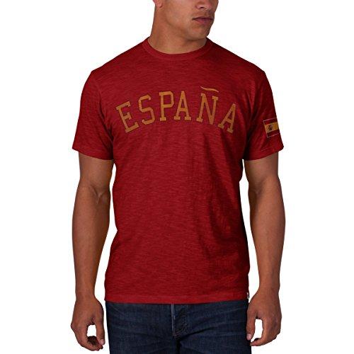 Spain Men's '47 Vintage Scrum Tee, Rescue Red, XX-Large (Scrum Vintage T-shirt)