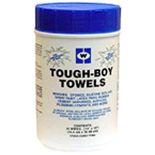J.C. Whitlam TFB80 Tough-Boy 10-Inch x 12-Inch Towels by J.C. Whitlam