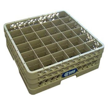 "Vollrath TR7CC Glass Rack - 36 Square Compartments, 7-1/8""H"