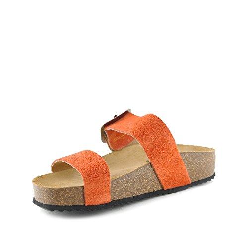 PLAKTON Damen Sandalen Orange