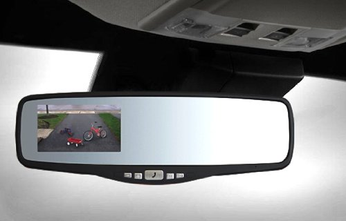 peak pkc0rg small rearview mirror with 3 5 inch backup camera buy online in uae automotive. Black Bedroom Furniture Sets. Home Design Ideas