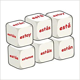 Spanish Estar (pack of 6 dice): Word Dice: Amazon.es: Derone, Stephane, Thomas, Susan: Libros