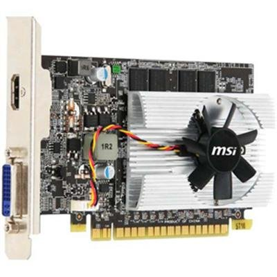 MSI Geforce 210 1024 MB DDR2 PCI-Express 2.0 Graphics Card MD1G