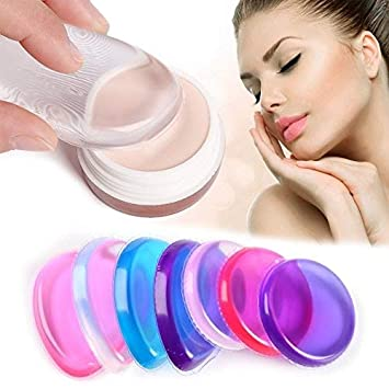 Beauty & Health Nice Face Beauty Face Makeup Smooth Easy To Wear Silicone Cosmetic Puff Women Liquid Foundation Concealer For Makeup Puff Tools Low Price Beauty Essentials