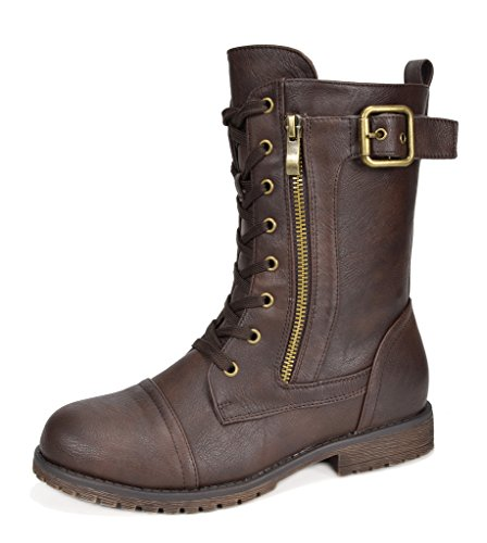 DREAM PAIRS Women's Mission Fashion Boot