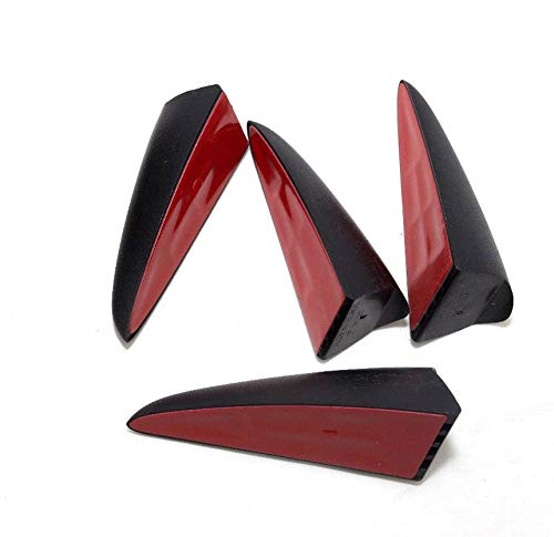 Secuencia frontal lámpara de cabeza garra del diablo punto moldura 4-pc juego para 2011 2012 2013 Hyundai Veloster: Amazon.es: Coche y moto