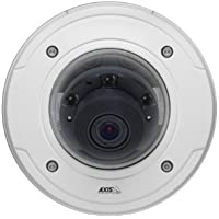 Axis Communications 0476-001 1 MP Outdoor Day and Night IP Dome Camera with 6mm Lens