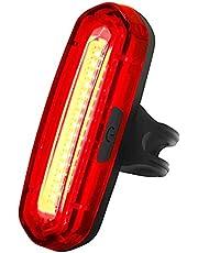 Krachtige fietsverlichting van 100 lumen, oplaadbare fietsverlichting, 6 standen, IPX6 waterdicht