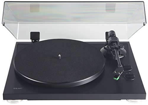 Teac TN-300SE-MB Analog Turntable, Matte black