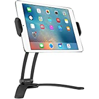 Cellet Tablet Mount Stand for Wall or Desktop 360 Degree Rotation for Apple iPad Pro 10.5 pro 9.7 iPad min 4 Samsung Galaxy Tab S3, Amazon Fire HD and More- Black