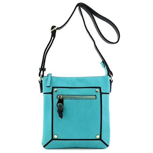 Colorblock Crossbody Bag - 6