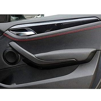 TOOGOO Couvercle de Poign/ée de Porte Int/érieure Gauche//Droite pour Voiture pour BMW X1 E84 2010-2016 Noir