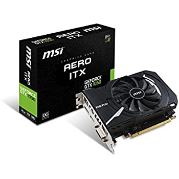 MSI GTX 1050 AERO ITX 2G OC Graphics Card