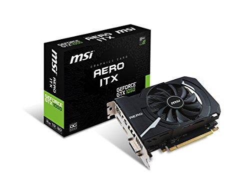 MSI GTX 1050 AERO ITX 2G OC GeForce GTX 1050 Graphic Card -